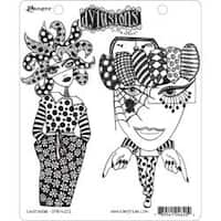 "Endeavour - Dyan Reaveley's Dylusions Cling Stamp Collections 8.5""X7"""