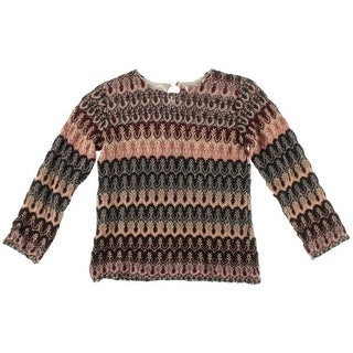 Missoni Girls Knit Lined Knit Top - 8