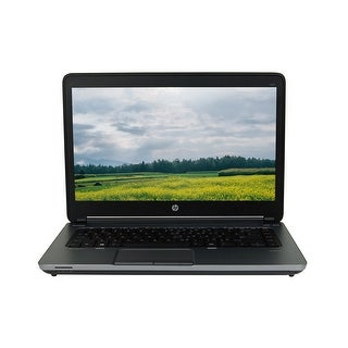 "HP ProBook 645 G1 AMD A8-4500M 1.9GHz Quad Core 4GB RAM 320GB HDD 14"" Windows 10 Pro Laptop (Refurbished B Grade)"
