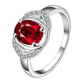 Petite Light Sapphire Open Clasp Petite Ring