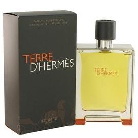 Terre D'Hermes by Hermes Pure Perfume Spray 6.7 oz - Men