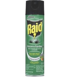 Raid 76410 House & Garden Bug Killer, 11 oz