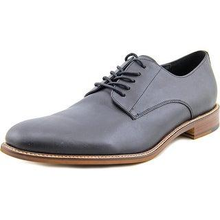 Aston Grey Collection Orlando Men Round Toe Leather Oxford