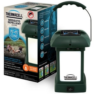 ThermaCELL Mosquito Repellent Pest Control Cordless Outdoor Lantern - Protects 15x15 Feet Zone