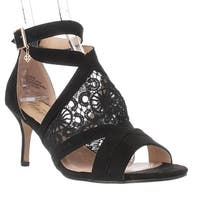 Nanetta Nanette Lepore Bliss T-Strap Sandals, Black