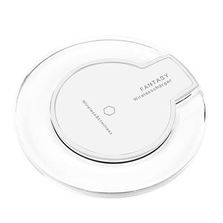 Qi Wireless Fast Charging Pad by Indigi® - iPhone & Android Compatible