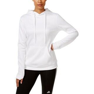 Adidas Womens Sweatshirt Hoodie Long Sleeves - S