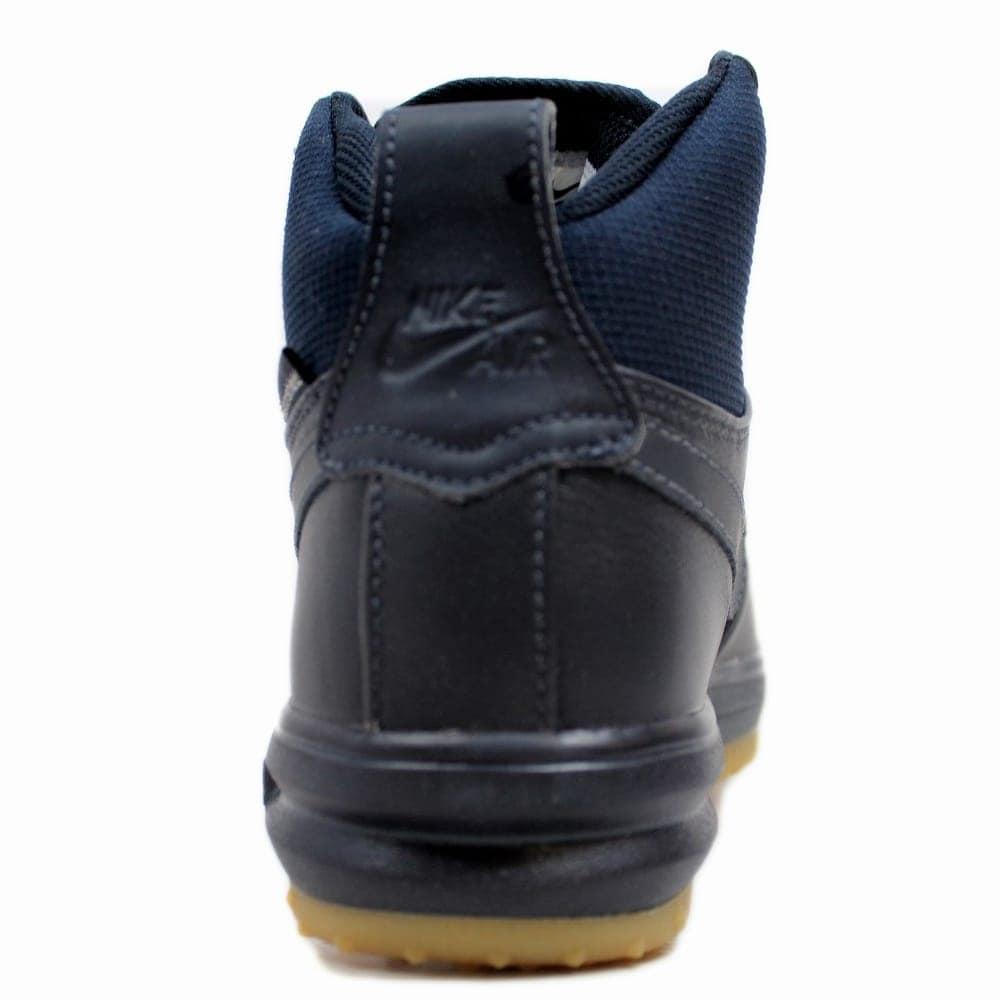 Nike Grade School Lunar Force 1 Sneakerboot GS Dark Obsidian 706803 401