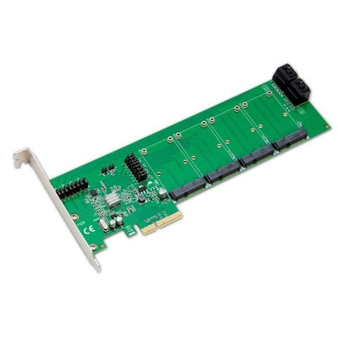 Syba SD-PEX40079 4-Port Revision 2.0 Marvell Chipset PCI-E Controller Card