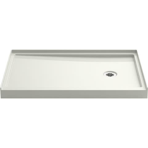 """Kohler K-8638 Rely 48"""" x 32"""" Rectangular Shower Base with and Right Drain"""