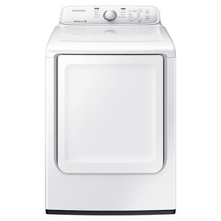 Samsung DV40J3000E 27 Inch Wide 7.2 Cu. Ft. Electric Dryer with Wrinkle Prevent
