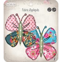 Sew Little Time Sew-On Applique-Butterfly