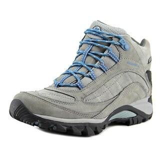 Merrell Siren Waterproof Women  Round Toe Leather Gray Hiking Shoe