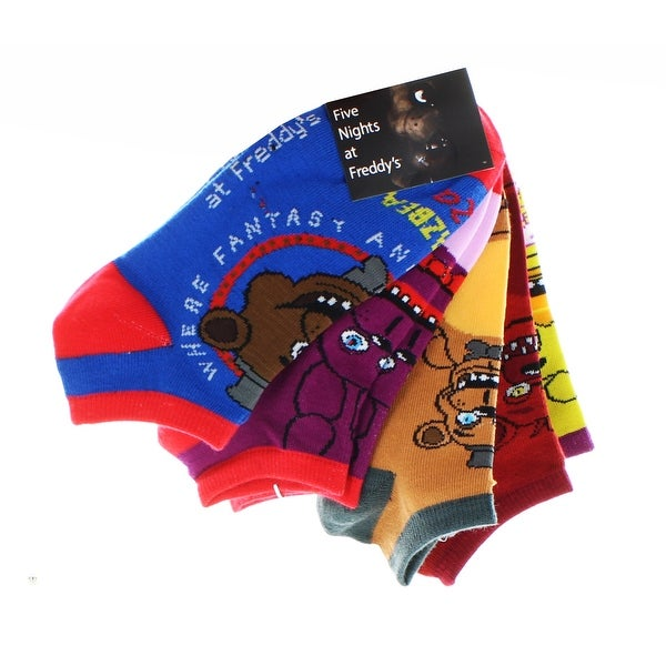 Five Nights at Freddy's Ankle Socks: 5-Pack