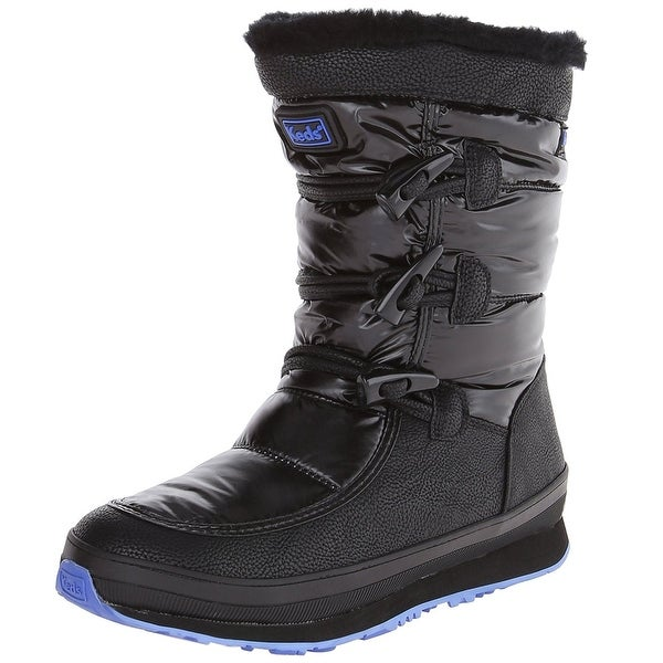 Keds Womens Powderpuff Closed Toe Mid-Calf Cold Weather Boots