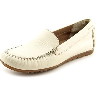 Walking Cradles Eagle Women N/S Round Toe Leather Loafer