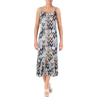 Billabong Womens Juniors Casual Dress Maxi Printed