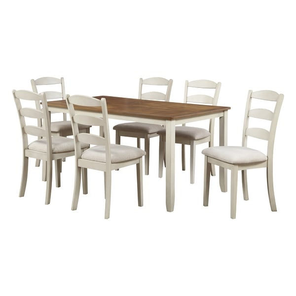 """West Lake 66"""" 7-pc. Dining Table Set. Opens flyout."""