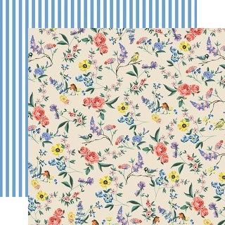"Pratically Perfect Double-Sided Cardstock 12""X12""-Garden Melody"