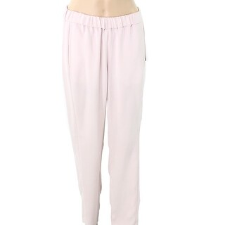 Vince Camuto NEW Hush Pink Womens Size Small S Smocked-Waist Dress Pants