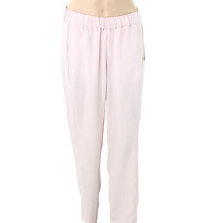 Vince Camuto NEW Hush Pink Womens Size XL Smocked-Waist Dress Pants