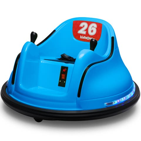 Kidzone Kid Toy Race 00-99 Electric Ride On Bumper Car ASTM-certified - standard