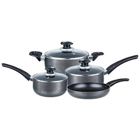Brentwood 7-Piece Aluminum Non-Stick Cookware Set Non-Stick Cookware Set
