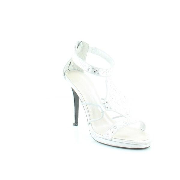 Caparros Emilie Women's Heels Silver Metallic - 8