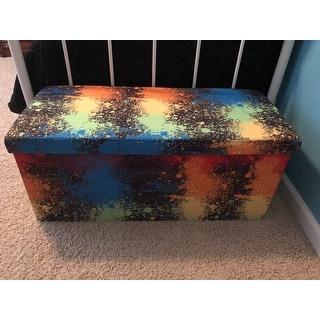 Crayola Cosmic Burst Box Ottoman