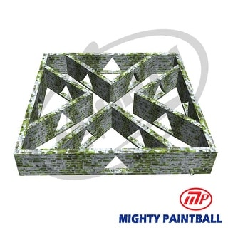 Mighty Paintball - Smart-Field (30'x30'X5'H) Tirangle design (MP-MA-1028)