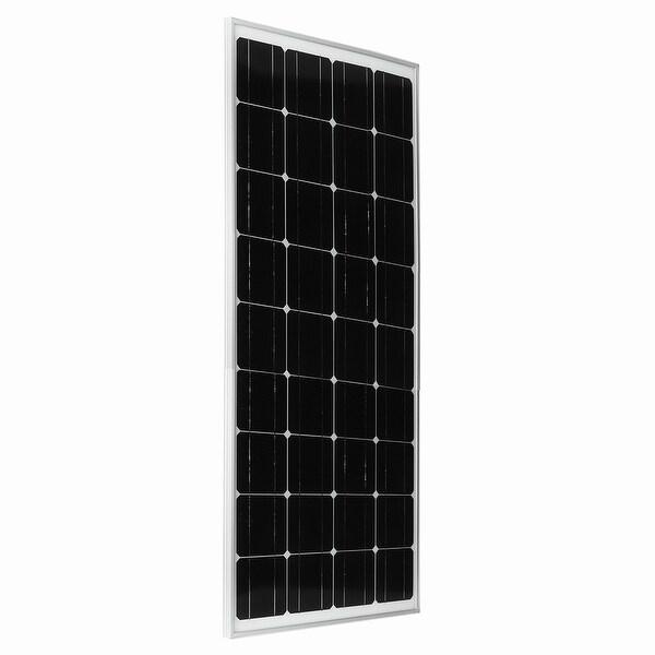 100 Watt 12 Volt Portable Monocrystalline Solar Panel Off Grid RV Boat