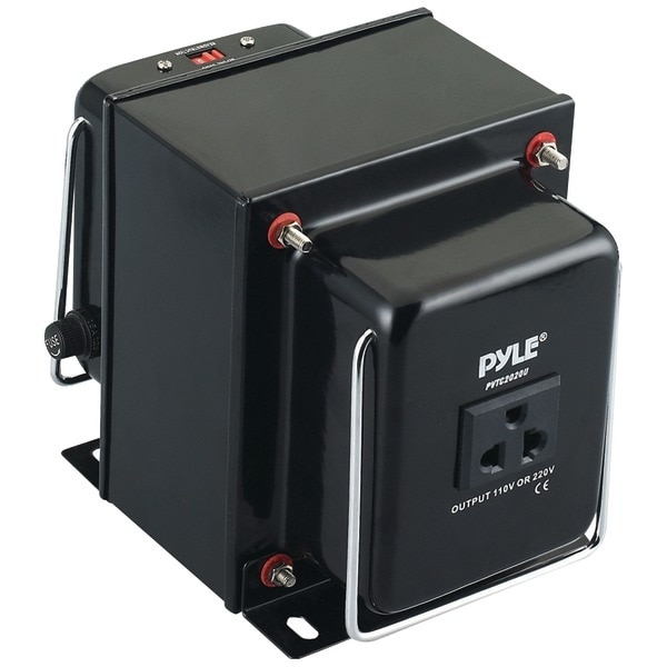 PYLE PRO PVTC2020U Step Up & Step Down Voltage Converter Transformer (2000 Watt)