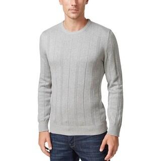 John Ashford Mens Pullover Sweater Crew Neck Long Sleeves
