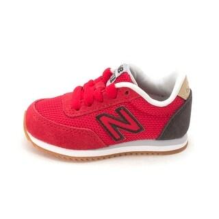 Kids New Balance Boys kl501v0l Low Top Lace Up Walking Shoes - Red Black - 5 m