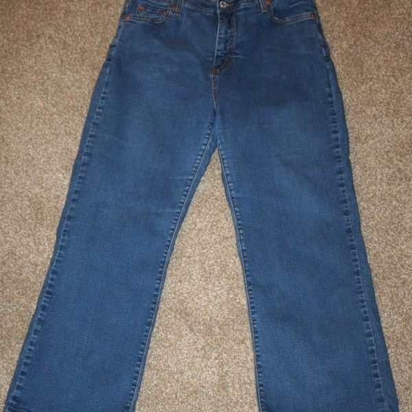 a797bf40bce Shop LEVI'S 512 Perfect Slimming 10 Short Stretch Jeans 30 x 27 1/2 ...