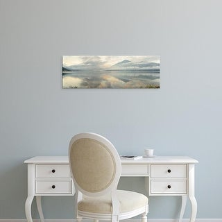 Easy Art Prints Alan Blaustein's 'Gravedonna Lake Vista' Premium Canvas Art