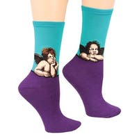 Women's Fine Art Socks - Raphael's Angels - Medium