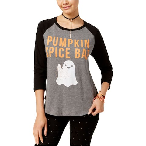 Doe Womens Pumpkin Spice Graphic T-Shirt