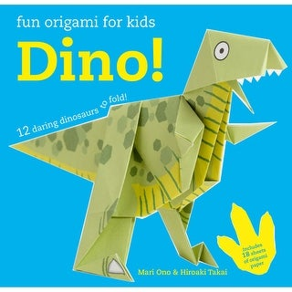 Cico Books-Origami For Kids: Dino!