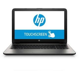 """HP 15-AF137NR 15.6"""" Touch Laptop AMD A8-7410 2.2GHz 4GB 1TB Windows 10"""
