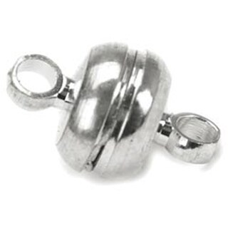 Silver - Magnetic Clasps 7mmX11mm 3/Pkg