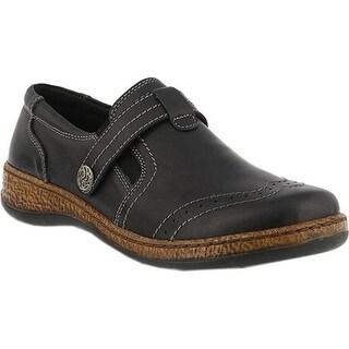 Spring Step Women's Smolqua Loafer Black Leather
