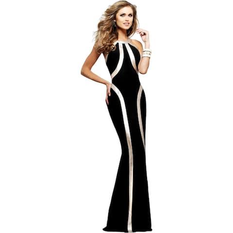 Faviana Womens Evening Dress Prom Sleeveless