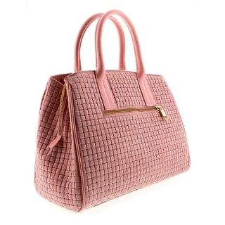 HS2076 RO SASA Pink Leather Satchel/Shoulder Bag