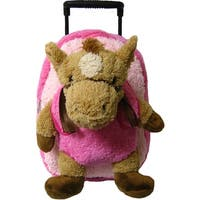 Kreative Kids Girls Pink Horse Plush Roller - One size