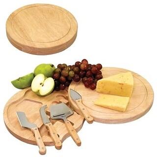 Picnic Time 854-00-505 Circo Cheese Board - Natural Wood