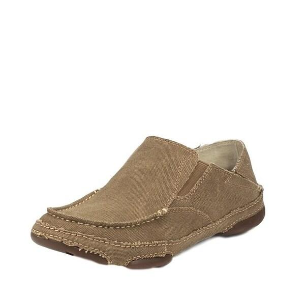 Tony Lama Casual Shoes Mens Twin Gore Canvas Winter Wheat RR3025