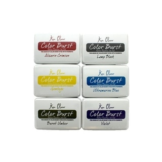 Link to Contact Crafts KOliver Color Burst Ink Pad Set 2 Similar Items in Stamping