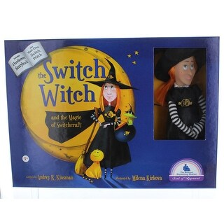 Switchcrafted The Story of The Switch Witches of Halloween Book and Doll - multi
