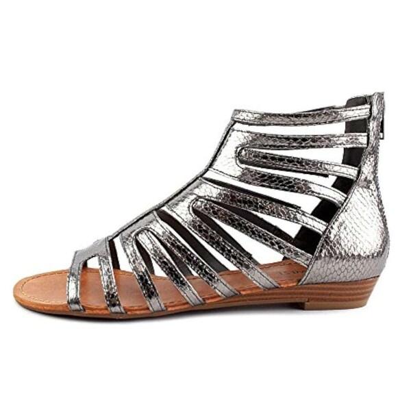 Nine West Womens sunraysol1 Open Toe Casual Slide Sandals